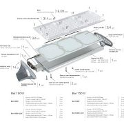 Сборка уличного светодиодного светильника 50Вт