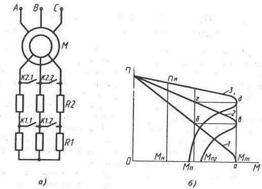 электродвигателя с фазовым